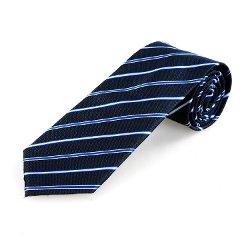 Allegra K - Slim Stripe Tie