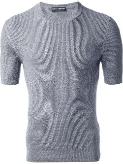 Dolce & Gabbana  - Ribbed Sweater
