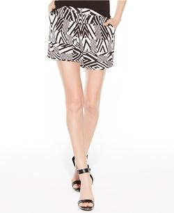 Calvin Klein - High-Rise Printed Shorts