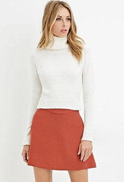 Forever 21 - Textured Turtleneck Sweater