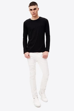 Vince - Double-Layer Crewneck T-Shirt