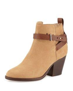 Rag & Bone  - Dalton Nubuck Ankle Boot, Camel