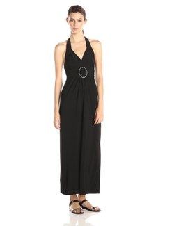 Star Vixen - Halter O-Ring Maxi Dress