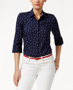 Tommy Hilfiger - Anchor-Print Shirt