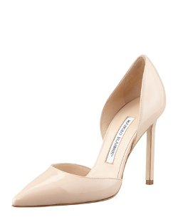 Manolo Blahnik - Tayler Patent Pointed d