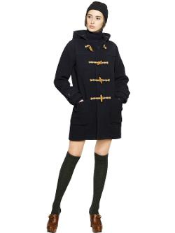 Polo Ralph Lauren  - Boiled Wool Duffle Coat