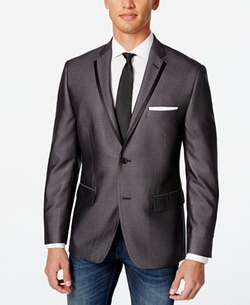 Alfani - Charcoal Slim Fit Evening Jacket