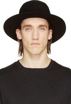 Robert Geller   - Wool Dominik Hat
