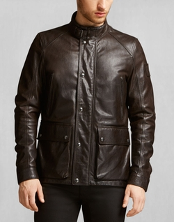 Belstaff - Tourmaster Handwaxed Leather Jacket