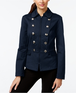 Inc International Concepts - Zippered Military Jacket