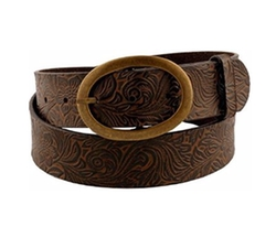 Sunny Belt - Beautiful Western Style Oval Buckle Belt