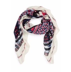 BP. - Geometric Print Square Scarf