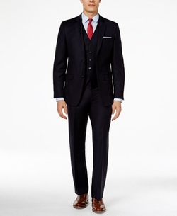 Lauren Ralph Lauren - Vested Solid Slim-Fit Suit