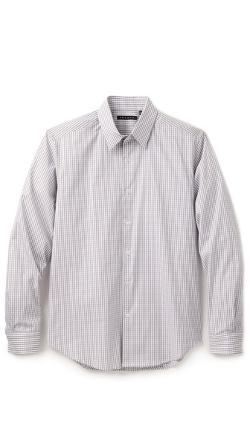 Theory - Sylvain Gingham Dress Shirt