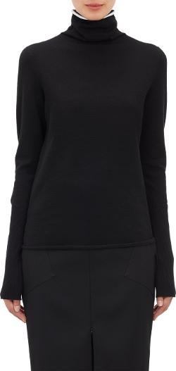 Protagonist - Line-Detail Turtleneck Sweater