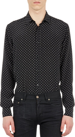 Saint Laurent - Polka Dot Shirt