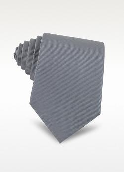 COVERI COLLECTION  - Solid Twill Silk Tie