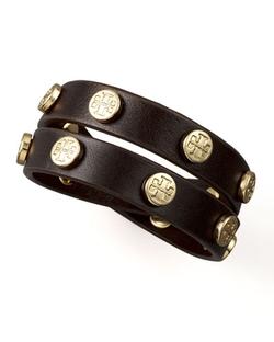Tory Burch  - Logo-Studded Bracelet