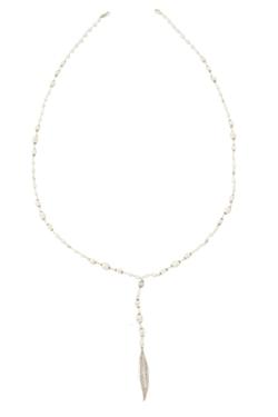 Chan Luu - White Bone Mix Layering Necklace