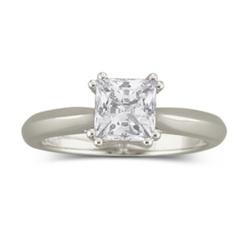 Diamon Art - Cubic Zirconia Solitaire Ring