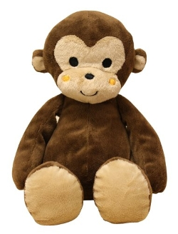 Bedtime Originals - Plush Monkey Ollie Toy