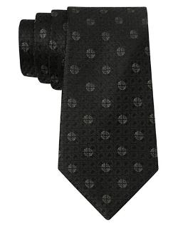 John Varvatos U.s.a. - Silk Medallion Check Tie