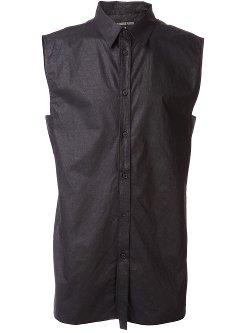 Alexandre Plokhov  - Sleeveless Front Button Shirt