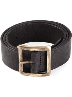 Saint Laurent - Classic Distressed Belt