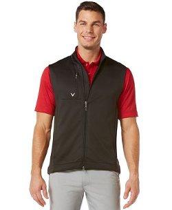 Callaway - Solid Full-Zip Fleece Golf Vest