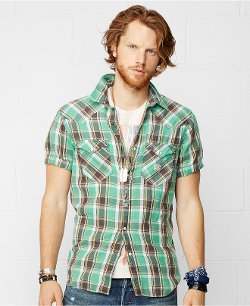 Denim & Supply Ralph Lauren - Plaid Cowboy Shirt