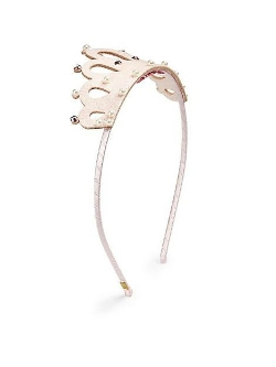 Bari Lynn  - Embellished Crown Headband