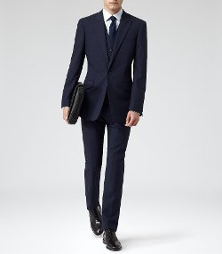 Reiss - Three Piece Wool Suit