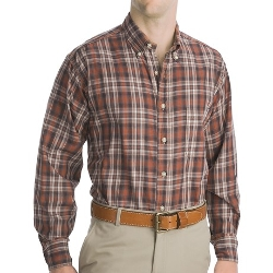 Bills Khakis - Long Sleeve Logan Plaid Shirt
