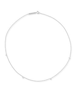 Zoe Chicco - 14K Scattered Love Station Necklace