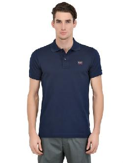 PAUL & SHARK  - COTTON PIQUÉ SHARK FIT POLO SHIRT
