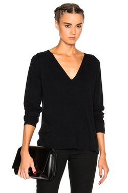 T By Alexander Wang  - Deep V Sweater