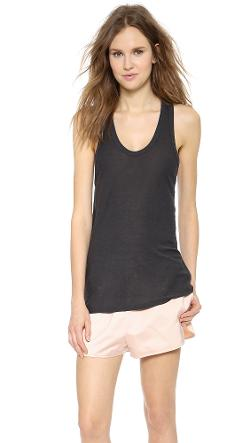 T by Alexander Wang - Slubbed Classic Tank Top