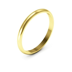 I Wedding Band - Plain Wedding Band Ring
