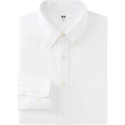 Uniqlo -  Easy Care Oxford Long Sleeve Shirt