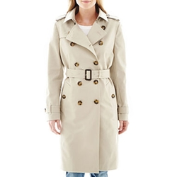 Liz Claiborne - Belted Trench Coat
