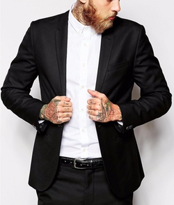Religion - Skinny Fit Suit Jacket