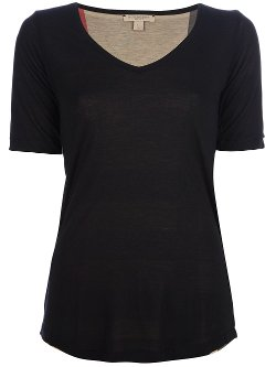 Burberry Brit  - V-Neck T-Shirt