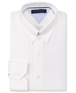 Tommy Hilfiger - White Tab Collar Dress Shirt