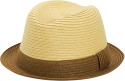San Diego Hat Company - Braided Paper Porkpie Fedora Hat