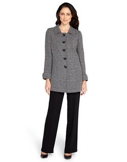Tahari Arthur S. Levine  - Tweed Coat