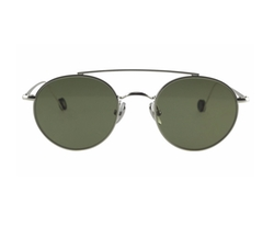 Ahlem Eyewear - Bastille - White Gold Sunglasses