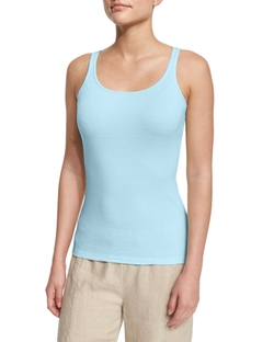 Eileen Fisher - Long Organic Cotton Tank Top