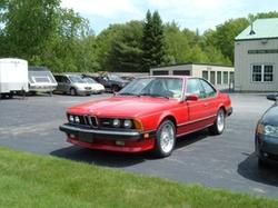 BMW - 1987 M6 E24 Car