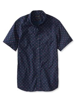 Banana Republic - Paisley Short-Sleeve Shirt