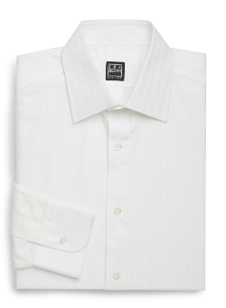 Ike Behar  - Tonal Stripe Dress Shirt
